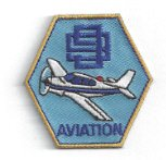 Girl Scout Aviation Badge